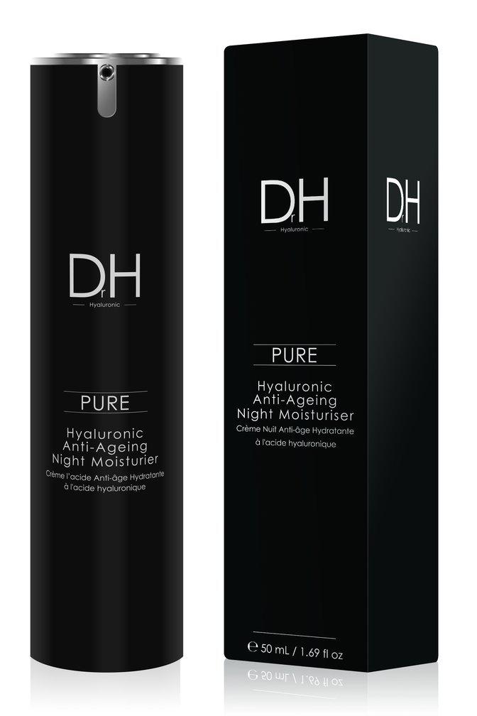 Dr. H Pure Hyaluronic Anti-Ageing Night Moisturiser