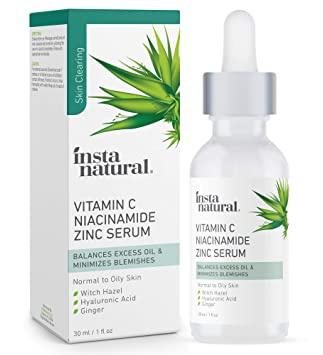 InstaNatural Vitamin C Niacinamide Zinc Serum