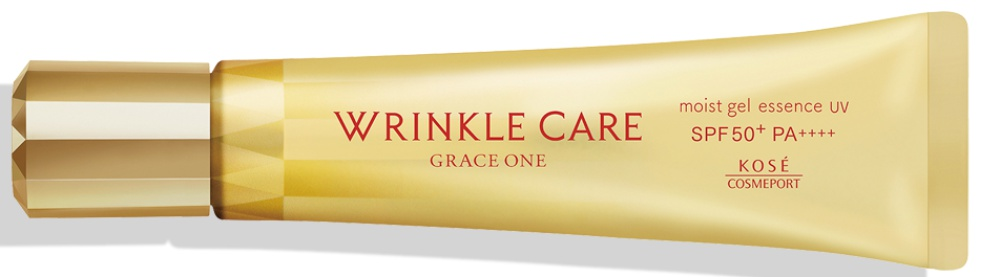 Kose Cosmeport Grace One Wrinkle Care Moist Gel Essence UV SPF50+ Pa++++