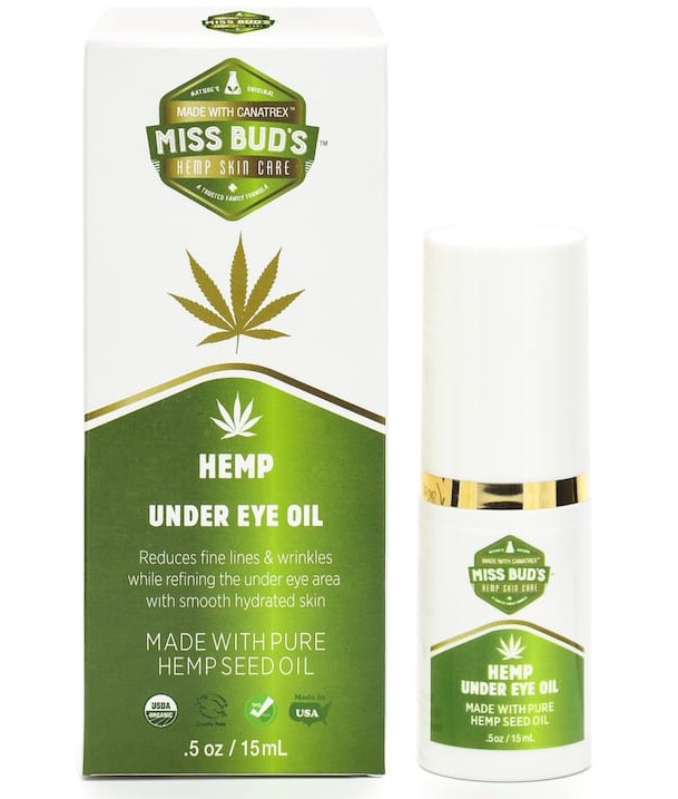 Miss Bud's Hemp Undereye Oil