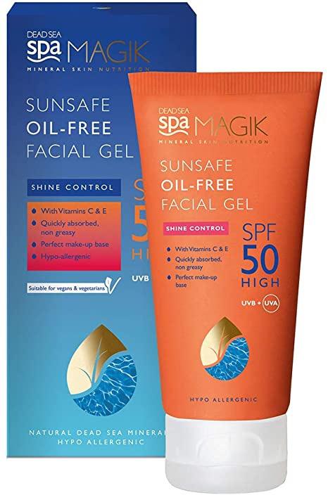 Dead Sea Spa Magik Sunsafe Oil-free Facial Gel SPF 50