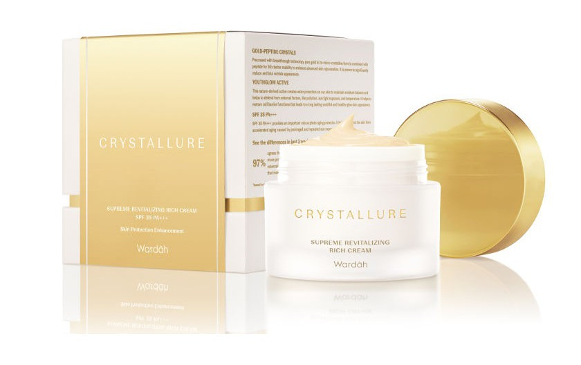 Wardah Crystallure Supreme Revitalizing Rich Cream 35 Pa+++