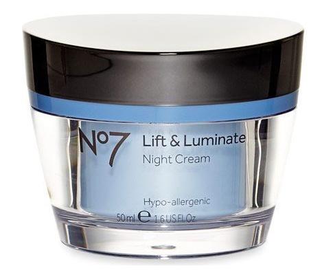 No7 Lift & Luminate Night Cream ingredients (Explained)