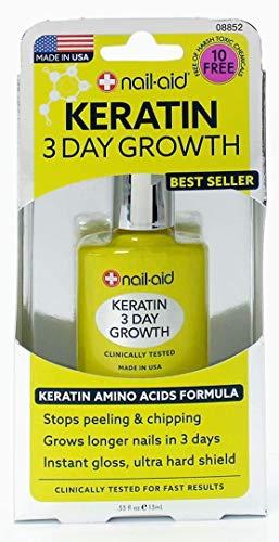Nail Aid Keratin 3 Day Growth