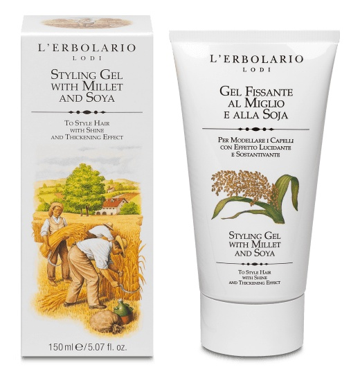 L'Erbolario Styling Gel Wit Millet And Soya