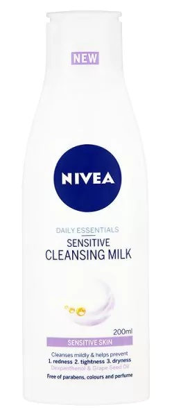 Nivea Daily Essentials Sensitive Cleansing Milk