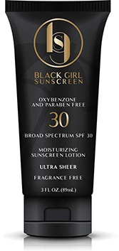 Black Girl Sunscreen Moisturizing Sunscreen Lotion SPF 30