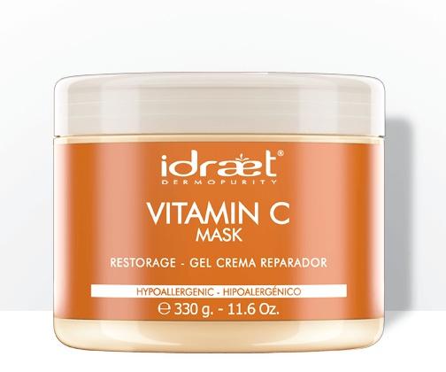 Idraet Vitamin C Facial Repair Mask