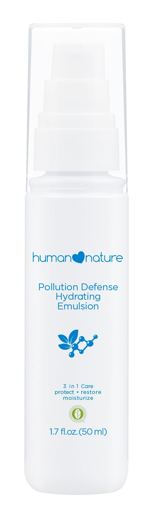 human  nature Pollution Defense Hydrating Emulsion