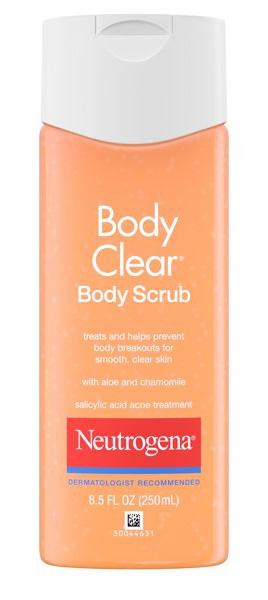Neutrogena Body Clear Acne Scrub With Salicylic Acid
