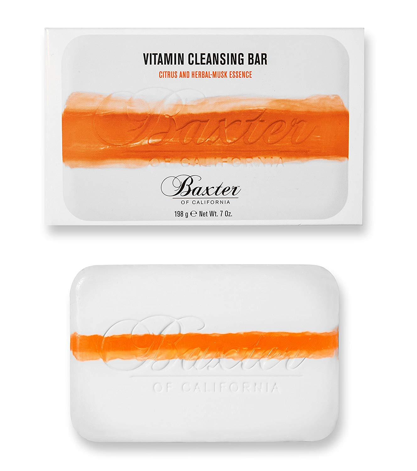 Baxter of California Vitamin Cleansing Bar - Citrus / Herbal Musk