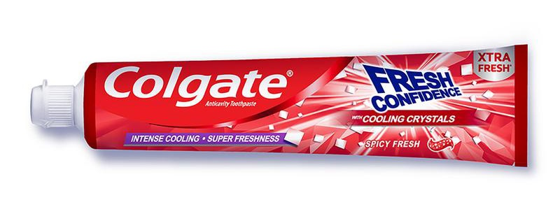 Colgate Colgate Fresh Confidence With Cooling Crystals, Spicy Fresh
