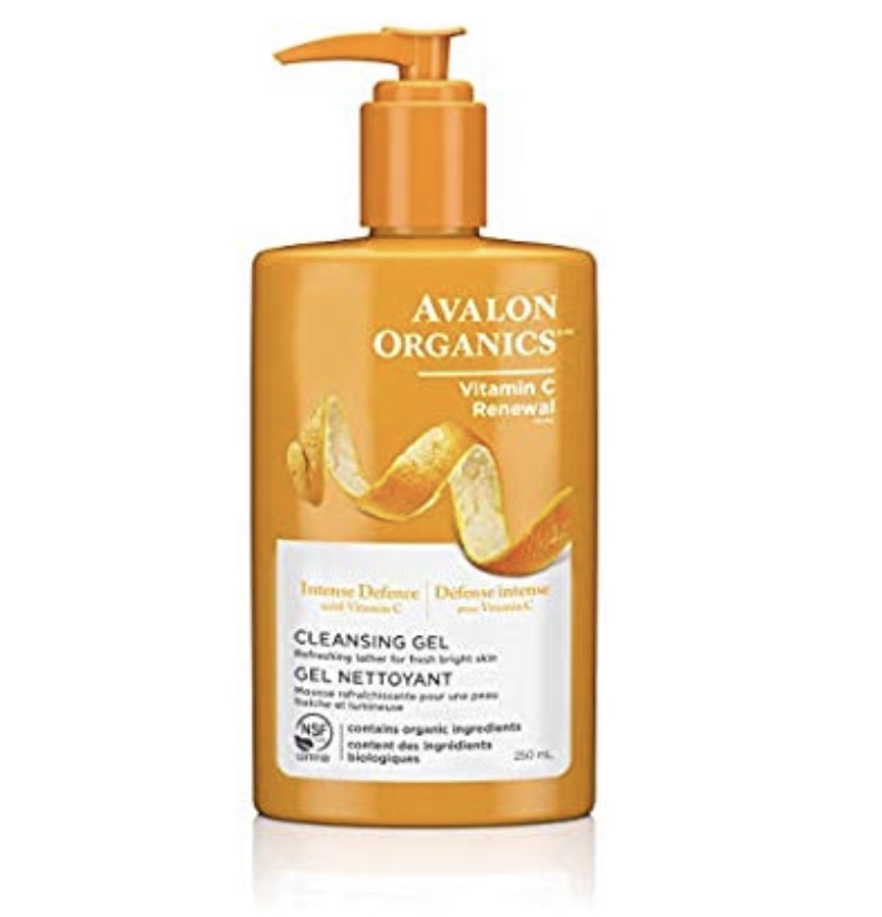 Avalon Organics Intense Defense Cleansing Gel