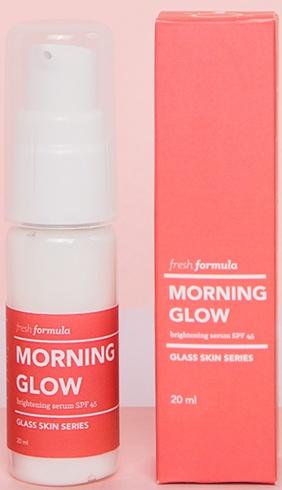fresh formula Morning Glow Brightening Serum Spf45