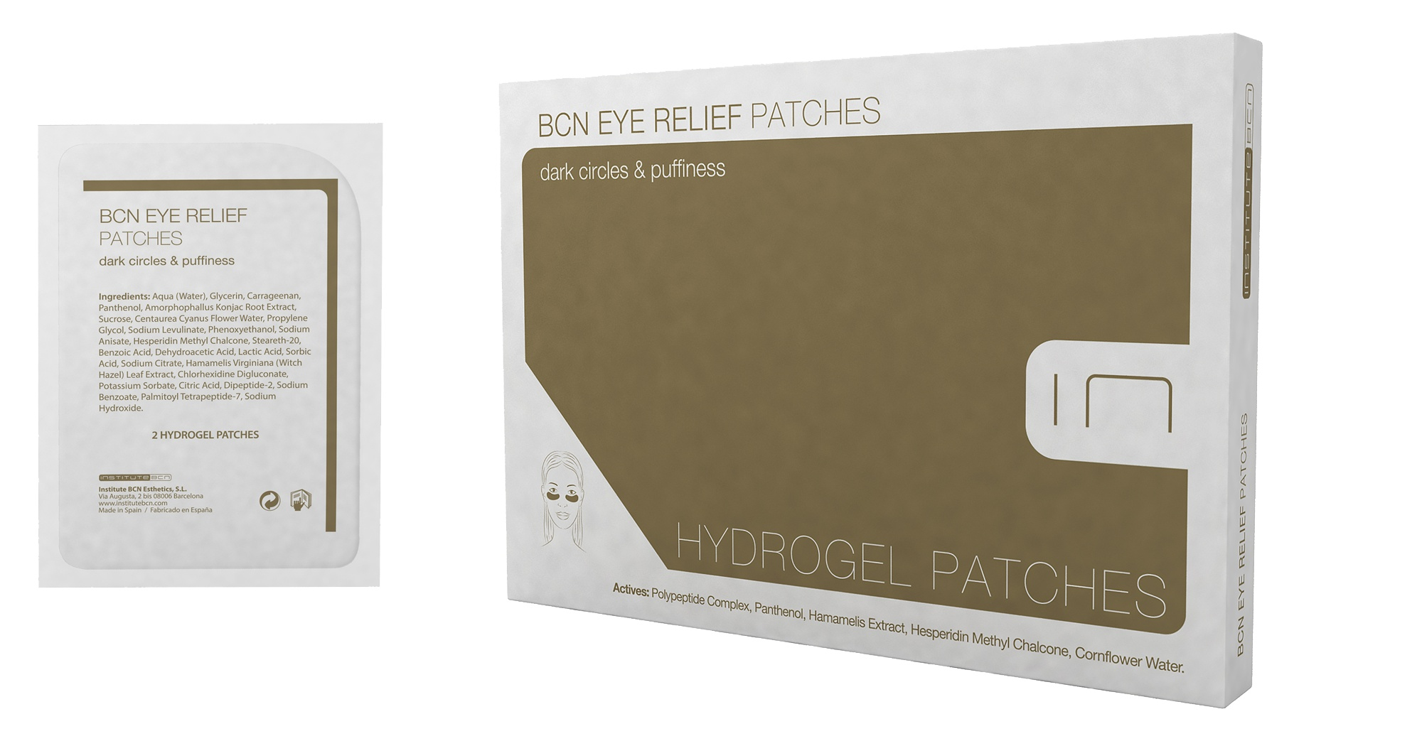 Institute BCN Eye Relief Patches