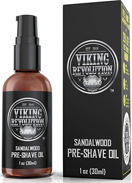 Viking Revolution Pre Shave Oil For Men