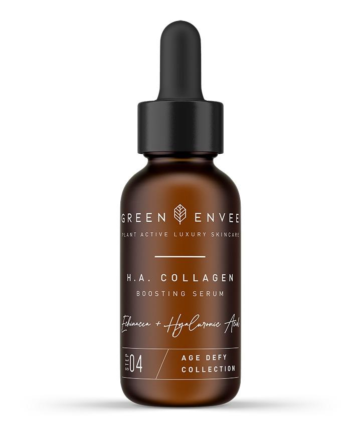 green envee H.A. Collagen Boosting Serum