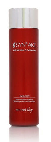 Secret Key Syn-Ake Anti Wrinkle & Whitening Emulsion