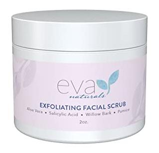 Eva Naturals Exfoliating Facial Scrub