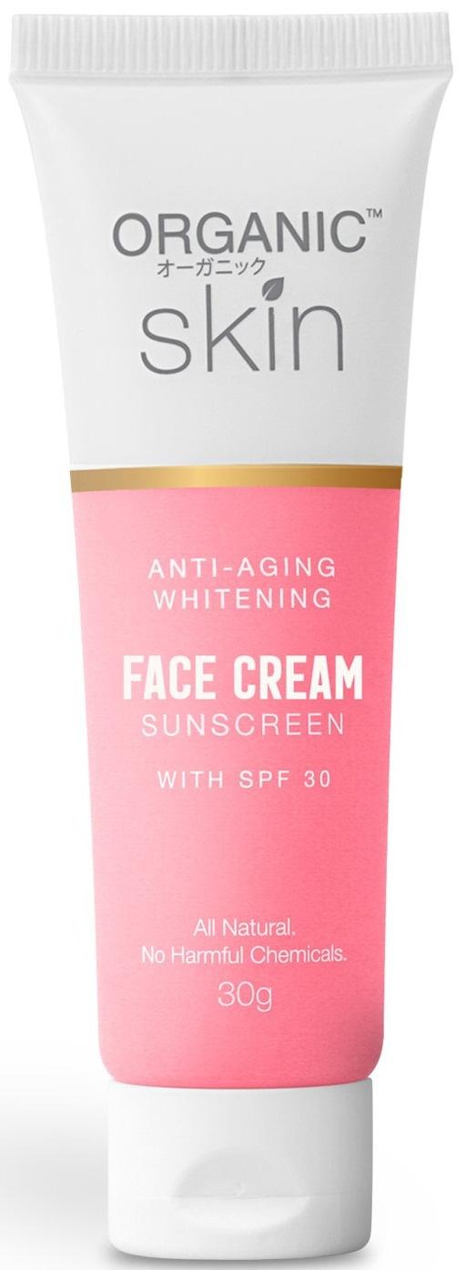 Organic Skin Japan Anti Aging Whitening Face Cream Collagen