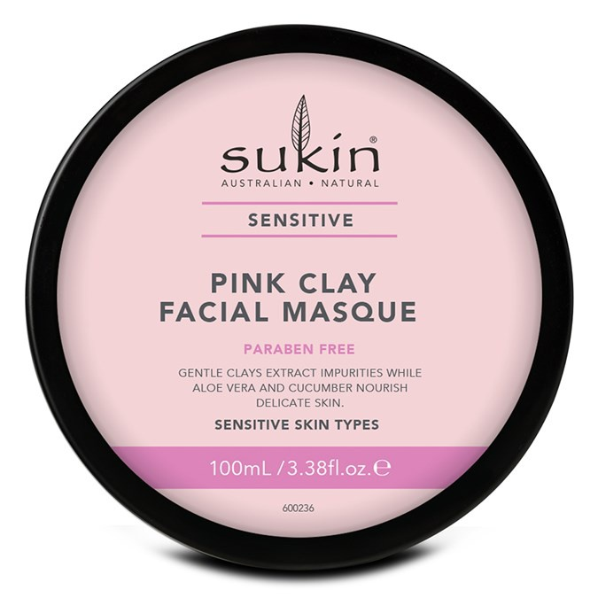Sukin Sensitive Pink Clay Facial Masque