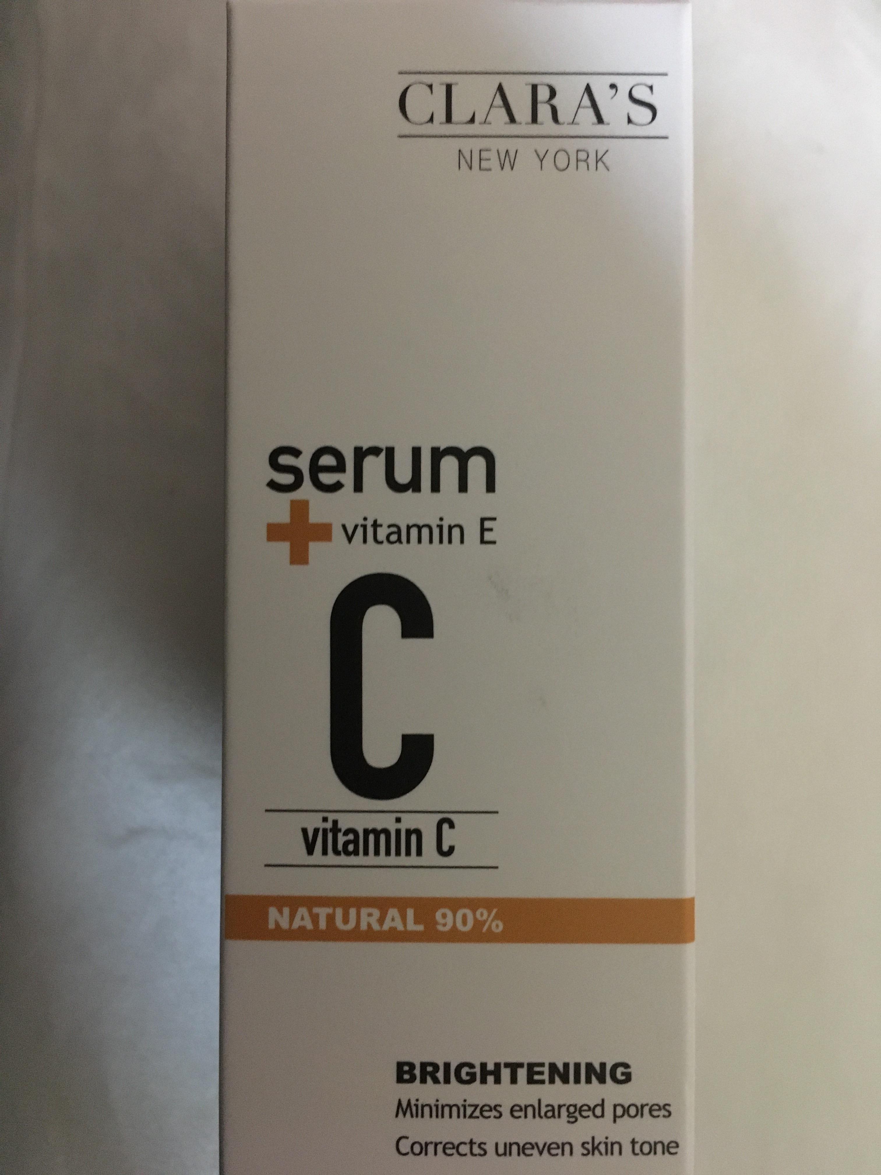 Clara's New York Vitamin C Serum 90%