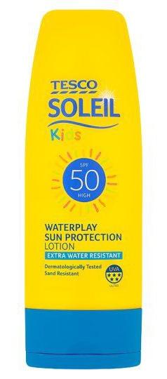 Tesco Soleil Kids Sun Protection Lotion SPF 50
