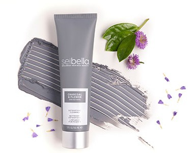 Seibella Charcoal & Flower Skin Refining Detoxifying Cleanser