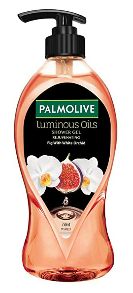 Palmolive Luminous Oils Rejuvenating Shower Gel With Natural Fig Oil & White Orchid Extracts