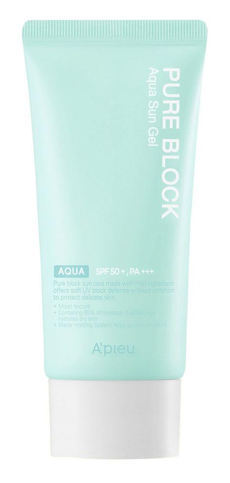 A'pieu Power Block Aqua Sun Gel SPF50+ Pa++++