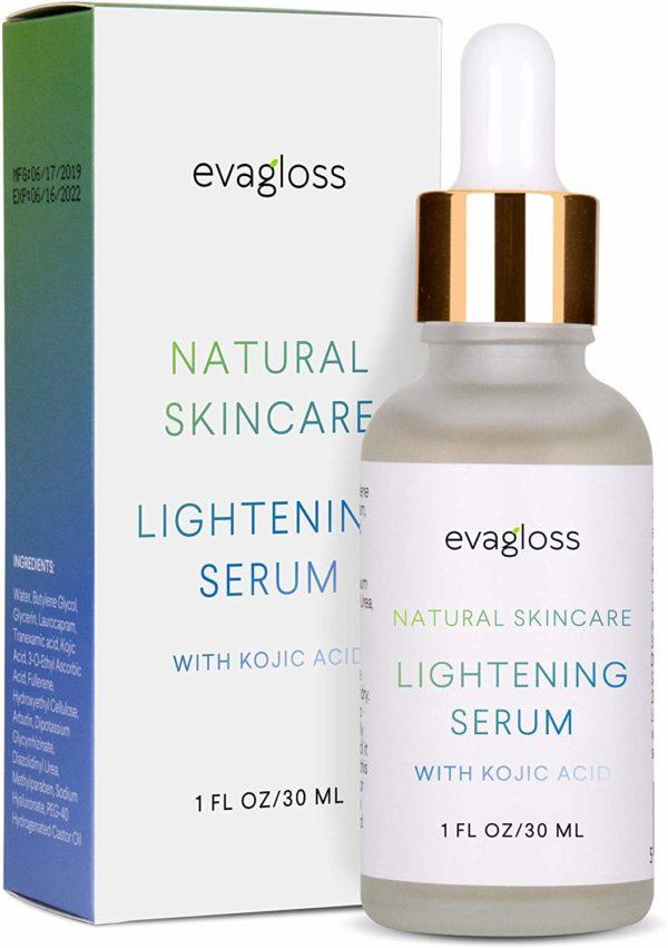 evagloss Skin Lightening Serum With Kojic Acid