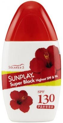 Sunplay Super Block Ultra shield Spf130 Pa+++