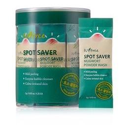 Isntree Spot Saver Mugwort Powder Wash