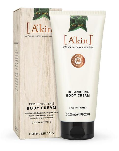 A'KIN Replenishing Body Cream