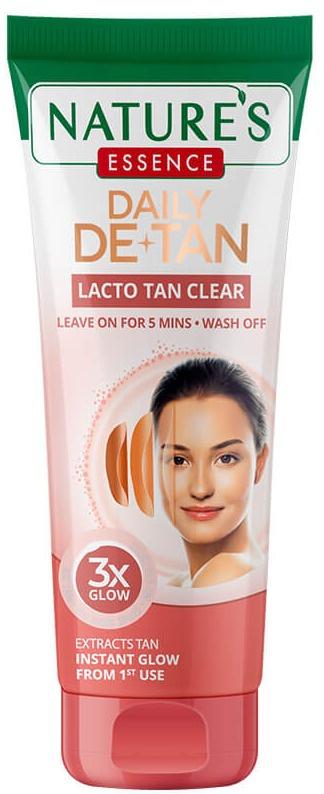 Nature's essence Daily De-tan Lacto Tan Clear