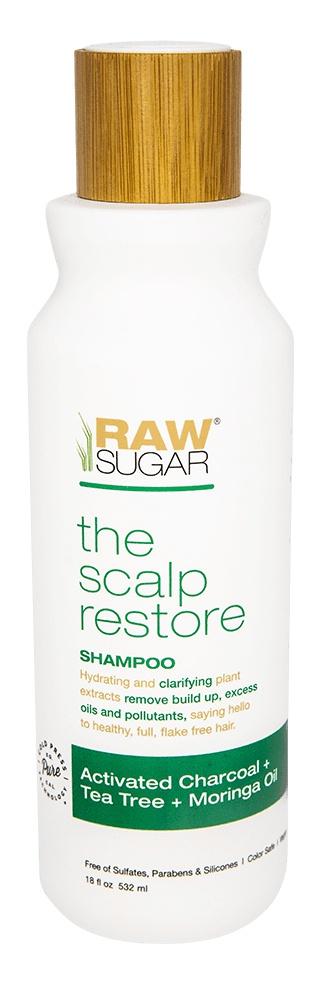 Raw Sugar Raw Sugar Scalp Renew Conditioner Activated Charcoal + Tea Tree + Moringa Oil