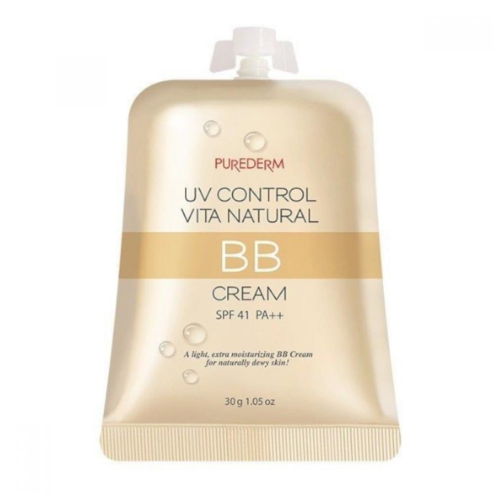 PUREDERM Uv Control Vita Natural Bb Cream