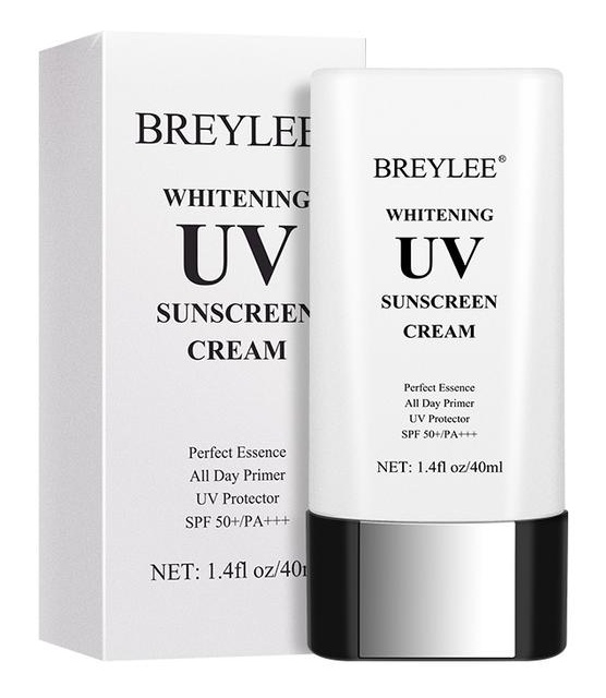 Breylee Whitening Uv Sunscreen Cream With Uva/Uvb Spf 50+/Pa+++