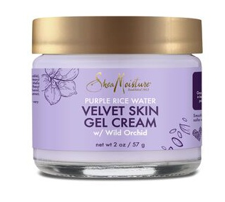 Shea Moisture velvet skin gel cream