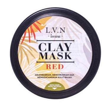 Lovana Clay Mask Red