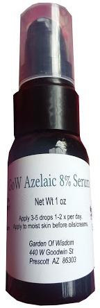 Garden of Wisdom Azelaic Acid Serum 8%