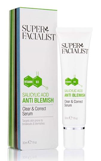 Super Facialist Salicylic Acid Anti Blemish Clear & Correct Serum