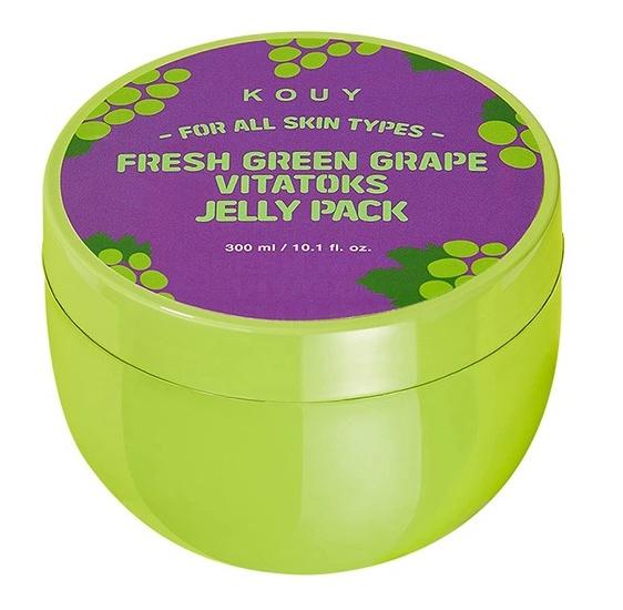 KOUY Fresh Green Grape Vitatoks Jelly Pack