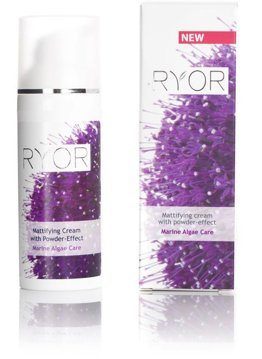 Ryor Mattifying Cream With Powder Effect