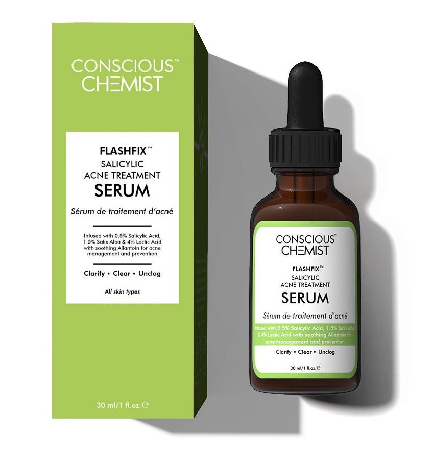 Conscious Chemist Flashfix™️ | 2% Salicylic Acid Acne Management & Prevention
