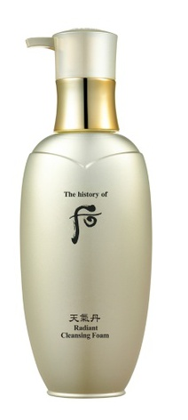 The History of Whoo Cheongidan Hwahyun Radiant Cleansing Foam
