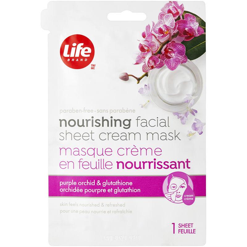 Life Brand Nourishing Facial Sheet Cream Mask