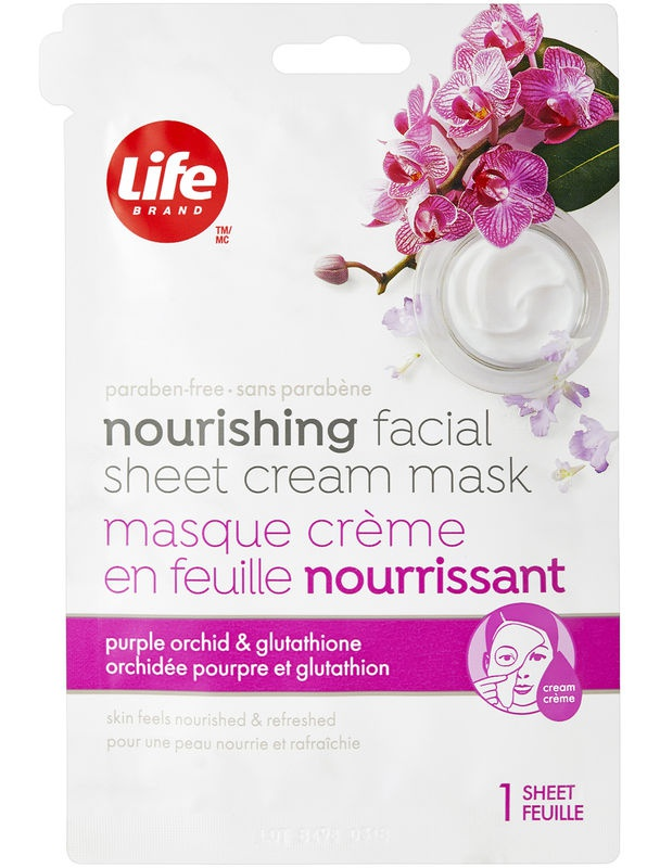 Life Brand Nourishing Facial Sheet Cream Mask