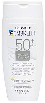Garnier Ombrelle Ultra Light Advanced Weightless Body Lotion Spf50+