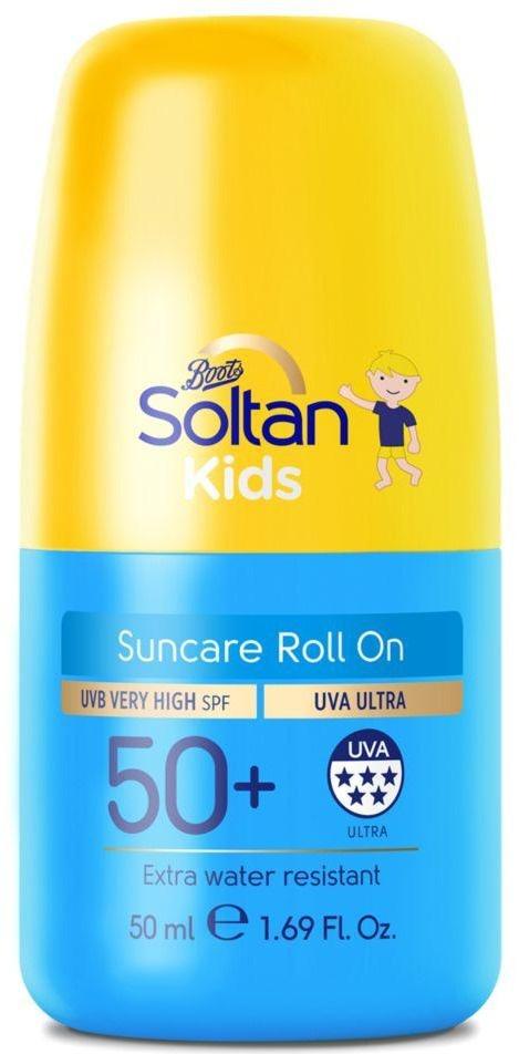 Boots Soltan Soltan Kids Protect & Moisturise Suncare Roll On SPF50+